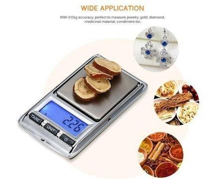 100g 0.01g Mini Digital Portable Pocket Scale