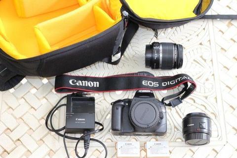 Canon EOS 550D Combo