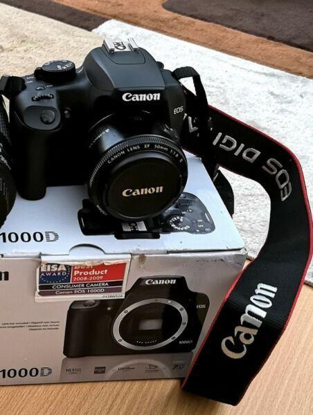 Canon DSLR 1000d boxed as new