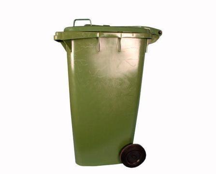 Refuse Bin With 2 Wheel - 240L Green