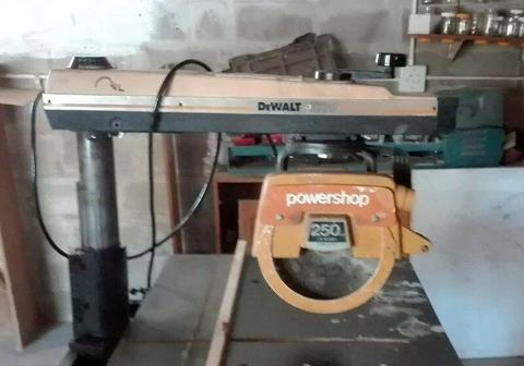 DeWalt Radial Arm saw Urgent
