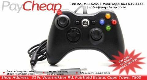 Wired Controller Compatible with Microsoft Xbox 360 and PC