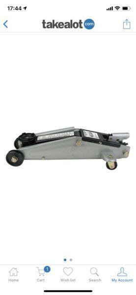 Motoquip 2 ton trolley jack - Brand New