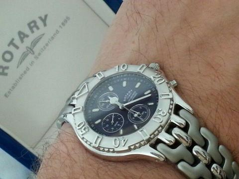 Rotary Aspen 100 meters brand new with box all stainless steel water resistant