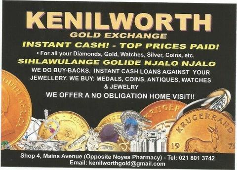 Cash 4 Gold - Dealers in Diamonds Silver