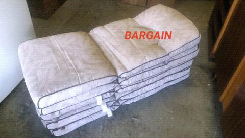 Patio Chair Cushions (×5)