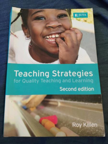 Teaching Strategies book for sale