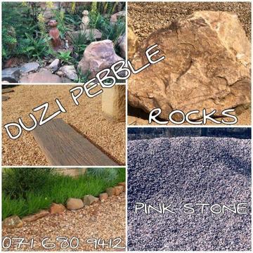 Duzi Pebble, Rocks, Boulders etc