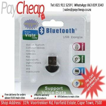 Bluetooth USB Dongle for PC Computer Laptop