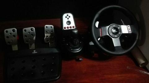 Logitech G27 Racing wheel Pc/Ps3