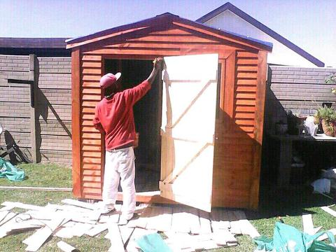Good quality wendy houses, toolsheds, guardrooms, carports