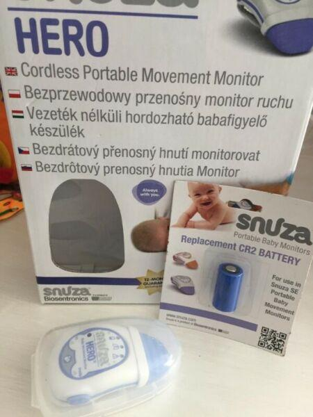 Mobile baby monitor