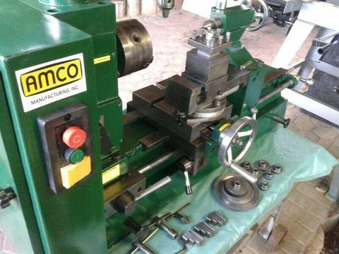 AMCO Metal Lathe with Milling machine (BARGAIN)