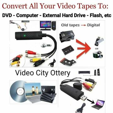 Convert Your VHS Tapes To Digital Formats