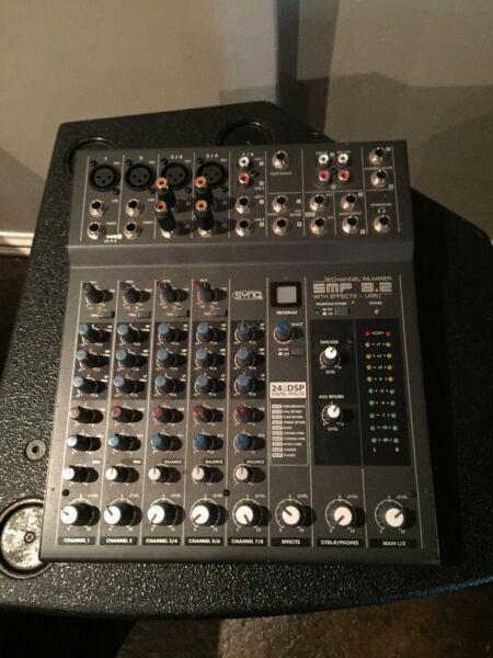 FULL Mobile DJ Setup (JB Systems)