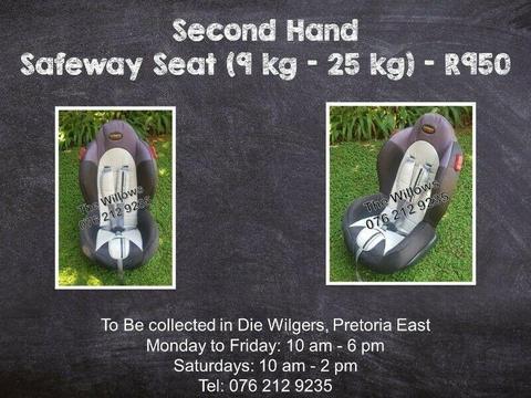 Second Hand Safeway Seat (9 kg - 25 kg)