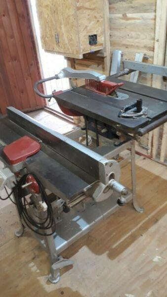 Rockwell delta saw/jointer