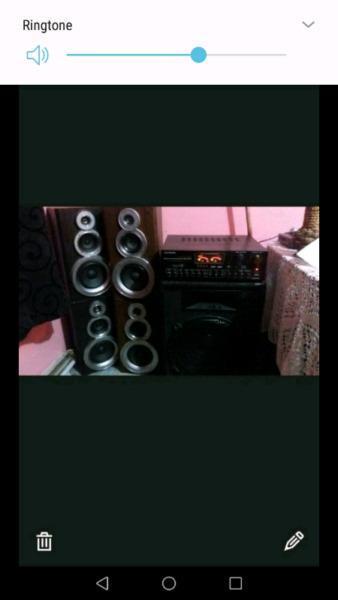 BIG HOME SOUND SYSTEM (SWAP OR SALE)