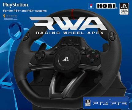 HORI RWA: Racing Wheel Apex (PC / PS3 / PS4)(brand new)