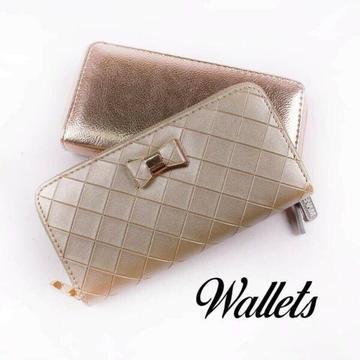 Ladies wallets.