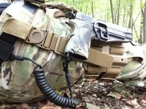 Tactical Pistol Lanyard - RETENTION CORD