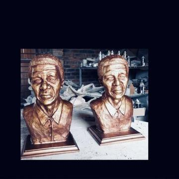 Nelson Mandela (Madiba) bust / statue