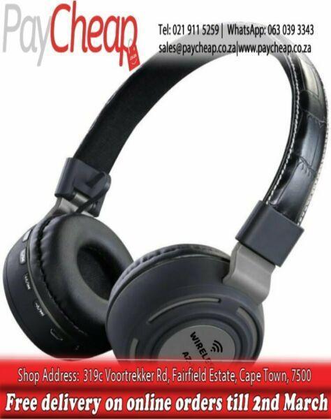 AZ-11 Wireless/Bluetooth HIFI Stereo Headphones For Samsung/iPhone
