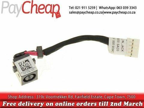 DELL LATITUDE E7440, E7450, GH95W, 0GH95W, DC301000900, DC POWER JACK