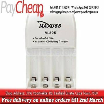New Maxuss AA/AAA Mini Charger