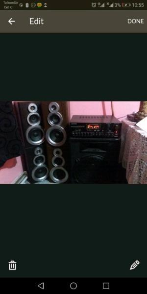 BIG HOME SOUND SYSTEM !! SWAP OR SALE!!!